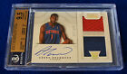 2012-13 NATIONAL TREASURES ANDRE DRUMMOND AUTO PATCH RC 199 BGS 9.5 10 GEM MINT