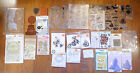 HUGE LOT OF Stamp Sets Assorted Mfg Magnolia Paper Smooches Hero Arts + MORE
