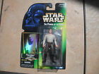 97 STAR WARS POWER OF THE FORCE GREEN CARD HAN SOLO IN CARBONITE W CARB BLOCK