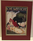 Vintage 1991 Mary Engelbreit Print Double Matted HOME SWEET HOME