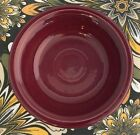 Fiestaware Claret Fruit Bowl Fiesta Small Retired Burgundy Dish