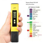 US Portable 2 in 1 Water Quality Tester Monitor pH EC Meter Acidometer R84J