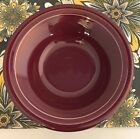Fiestaware Claret Stacking Cereal Bowl Fiesta Retired Burgundy Bowl