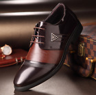 New Comfort Mens Dress Formal Lace up Oxfords Classic Leather Casual Shoes