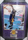 Shaquille O'Neal Autographed Signed Los Angeles Lakers 16x20 Photo Framed COA