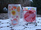 Fiesta Tervis Tumbler & lid.. Flowers insulated NEW 16-Ounce