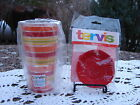 Fiesta Tervis Tumbler & lid.. Stripes insulated NEW 16-Ounce