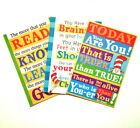 Dr Seuss Inspirational Quotes Poster Print Assorted Styles New in Plastic