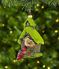 Dillard´s Trimmings All Is Calm Birdhouse with Moss Ornament NEW Poland 4.75