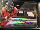 2013 ABSOLUTE DEMARYIUS THOMAS DUAL PATCH AUTO 25 SICK PATCHES BRONCOS