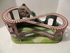 Vintage J CHEIN TIN TOY LITHO WIND UP ROLLER COASTER 1 Car Works Great Clean