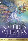 Natures Whispers Oracle Cards by Angela Hartfield Hardcover Book English
