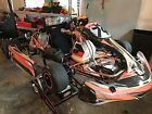 CRG Road Rebel Shifter Kart with TM Racing K9b 125CC serviced by Swedetech
