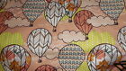 SNUGGLE FLANNEL PATTERNED HOT AIR BALLOONS 1 YARD BTY