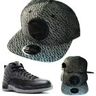 New Era NBA Atlanta Hawks Classic Snapback Hat Air Jordan 12 Retro Wool Cap