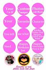 Custom Bottle Cap Images 15 Precut YOU PICK IMAGES OR CUSTOMIZE SHEET from store