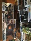 Lot of 3 Back to the Future Exclusive FUNKO POP DOC BROWN and MARTY HOVERBOARD