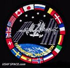 AUTHENTIC AB Emblem FLAGS ISS International Space Station SPACEX NASA PATCH