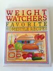 Weight Watchers Favorite Homestyle Recipes Vintage 250 Prize Winning Recipes1993