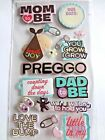 JOLEES NEW BABY MOM DAD to Be PREGNANCY 3D Scrapbook Stickers SHOWER