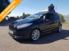 Ford Fiesta 10  125ps  EcoBoost  s s  2013 Zetec S BLACK FSH car finance