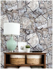 Faux Stone Peel and Stick Wallpaper Rock Stone Self Adhesive Contact Paper