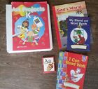 Abeka K5 Reader lot Gods World Art Kindergarten