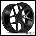 20 GIOVANNA HALEB GLOSS BLACK CONCAVE WHEELS RIMS FITS CHEVROLET CAMARO LT SS
