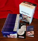 1986 2009 SILVER DOLLARS 999 AMERICAN EAGLE 24 COINS UNCIRC IN CASES TONING