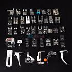32pcs Home Sewing Machine Braiding Blind Stitch Darning Presser Foot Feet Kit