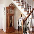 Hermle OAK Grandfather Floor Clock German Triple Chime Movement NEW