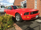 LARGER PHOTOS: 2007 FORD MUSTANG 4.0 GT Convertable AUTO RED