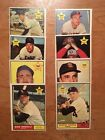 1961 Topps Rookie 8 card lot High Grade High book is over 225
