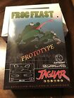 Atari Jaguar - Frog Feast 2007 1st Gen Prototype Cartridge RARE! 1 Of A Kind!