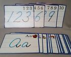 Abeka Kindergarten K5 K4 Visuals Cursive Formation Flashcards Penmanship Writing