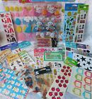 30 Packages of Stickers Easter Animals Beach Cowboy Word Bubbles All New In Pack