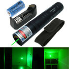 Powerful Green 1MW 532nm Laser Pointer Pen Light Visible Beam Focus + Battery