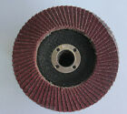 100mm Flap Grinding Sanding Disc Wheel 60 Grit Aluminium Oxide Angle Grinder