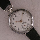 Early Cylindre 1900 Swiss Silver NIEL Fancy Wrist Watch Perfect Fully Serviced