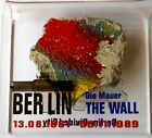 Berlin Wall with Display Authentic Piece from Berlin
