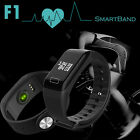 Bluetooth F1 Smart Watch Blood Pressure Heart Rate Monitor For iphone Android US