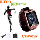 Bluetooth DZ09 Smart Watch Wrist Band GSM For iPhone Samsung HTC Android Phone