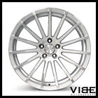 22 ACE DEVOTION SILVER CONCAVE WHEELS RIMS FITS LEXUS LS460 LS600