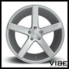 20 NICHE MILAN SILVER CONCAVE STAGGERED WHEELS RIMS FITS ACURA TSX