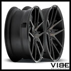 20 NICHE TARGA MACHINED CONCAVE STAGGERED WHEELS RIMS FITS ACURA TSX