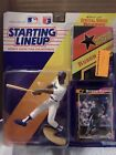 1992 STARTING LINEUP RUBEN SIERRA RANGERS, Includes Super Star Poster By Kenner