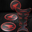 ProGrip Black+Chromed Red Fuel Tank Pad+2