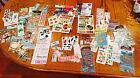 NEW LOT OF 50 PACKS SHEETS STICKERS ALL KINDS