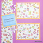 Premade12 x12 Scrapbook Page Layout Children Kids Dance Butterfly SEWN MSND Jenn