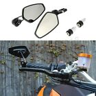New Black Arrow Bar End Side Mirrors Set Custom For KTM 1290 1190 990 Super Duke